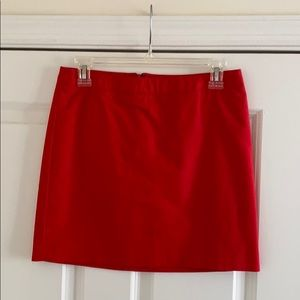 Kenneth Cole red mini skirt